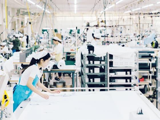 CHOYA シャツ(縫製工場)
