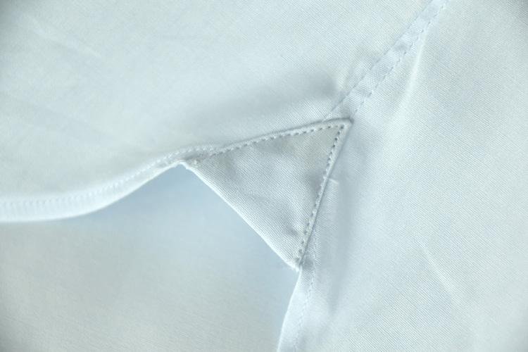 CHOYA シャツ(縫製方法の違い説明)
